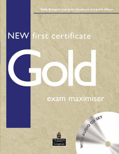 9780582777255: New first certificate gold exam maximiser. Without key. Con CD Audio. Per le Scuole superiori