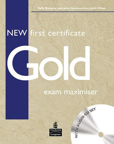 9780582777293: New First Certificate Gold Exam Maximiser No Key for Pack