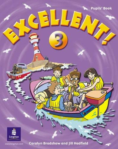 9780582778467: Excellent! 3 Pupils' Book