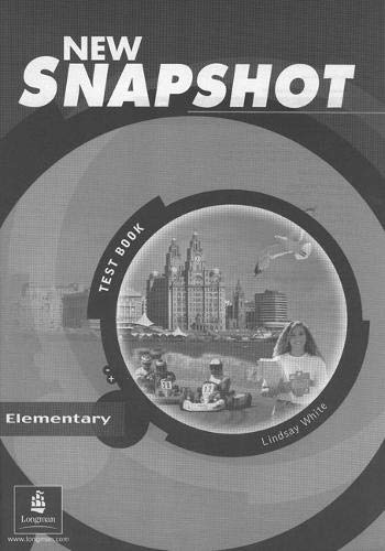 9780582779327: Snapshot Elementary Tests New Edition