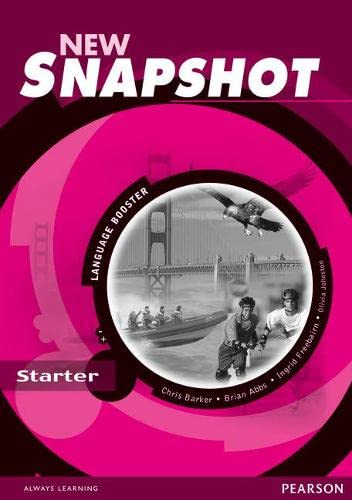 9780582779365: Snapshot Starter Language Booster New Edition