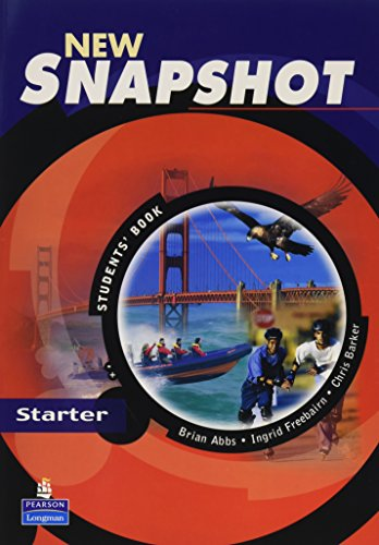 9780582779372: Snapshot Starter Student's Book New Edition