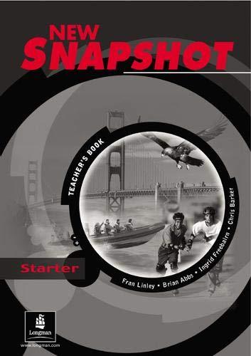 9780582779389: Snapshot Starter Teacher's Book New Edition