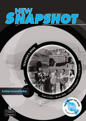9780582779402: New Snapshot: Intermediate Level: Teacher's Book (Snapshot)