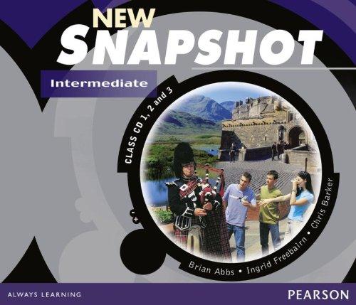 9780582779433: Snapshot Intermediate Class CD New Edition 1-3: Audio Class Cds 1-3