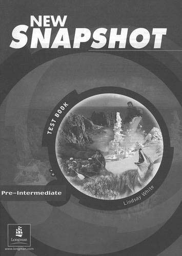 9780582779457: Snapshot Pre-Intermediate Tests: Test Book (A&B)