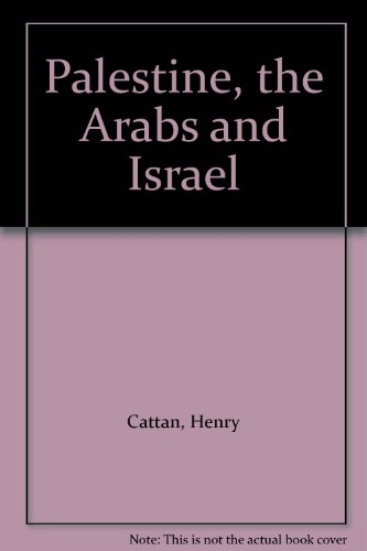 9780582780217: Palestine, the Arabs and Israel