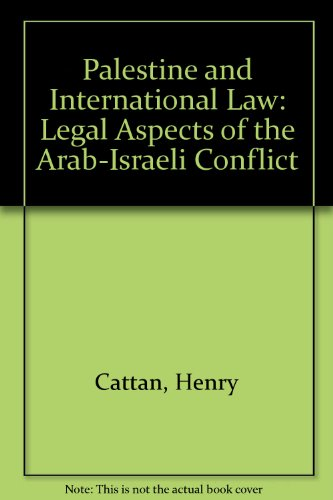 palestine and international law essays on politics and economics Leonard woolf's long life and life-long involvement with international politics, law, and economics created a body of work that serves as a lens through which we can better understand virtually every major historical event and movement of the twentieth century.