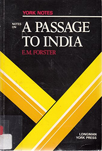 Stock image for A PASSAGE TO INDIA: York Notes for sale by Occultique