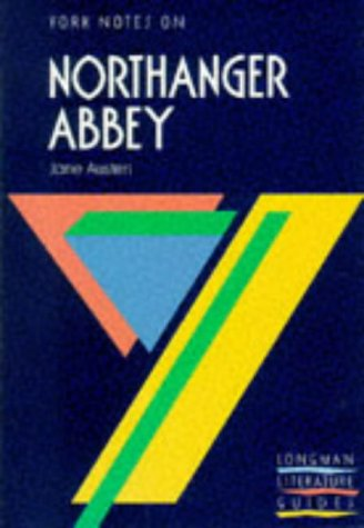 9780582781238: York notes on NORTHANGER ABBEY by Jane Austen