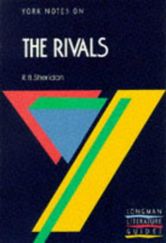 9780582782723: The Rivals (York Notes)
