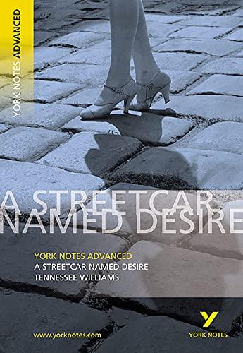 9780582784246: Streetcar Named Desire: York Notes Advanced