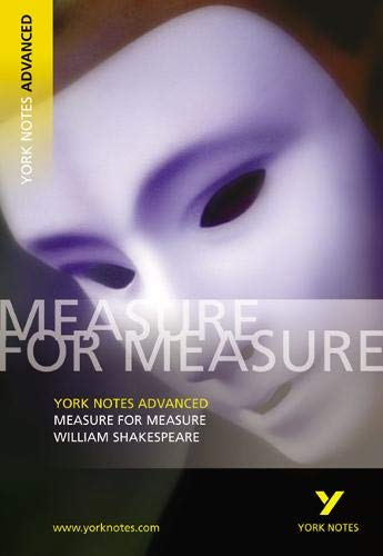 9780582784307: Measure for Measure (York Notes Advanced series)