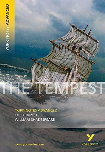 9780582784376: The Tempest (York Notes Advanced)