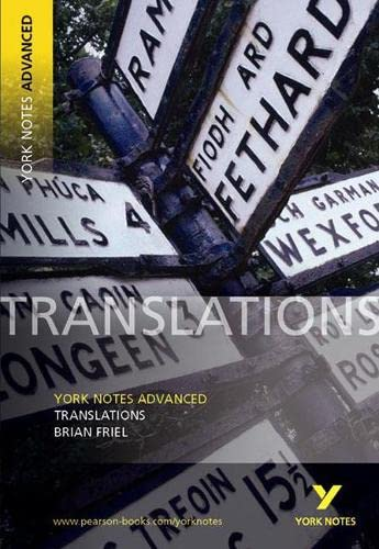 9780582784383: Translations (York Notes Advanced)