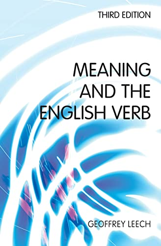 9780582784574: Meaning and the English Verb