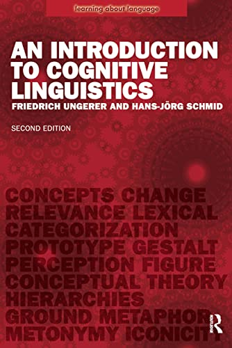 9780582784963: An Introduction to Cognitive Linguistics