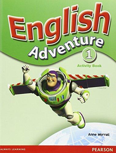 9780582791633: English Adventure Level 1 Activity Book