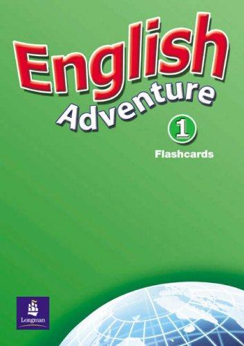 9780582791664: English Adventure Level 1 Flashcards