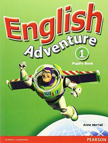 9780582791688: English Adventure: Pupils Book Plus Picture Cards Level 1