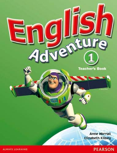 9780582791718: English Adventure Level 1 Teacher's Book