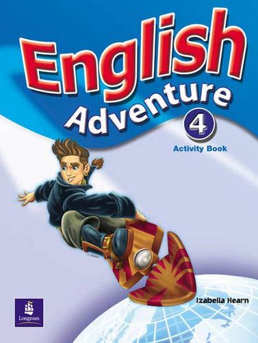 9780582791930: English Adventure Level 4 Activity Book