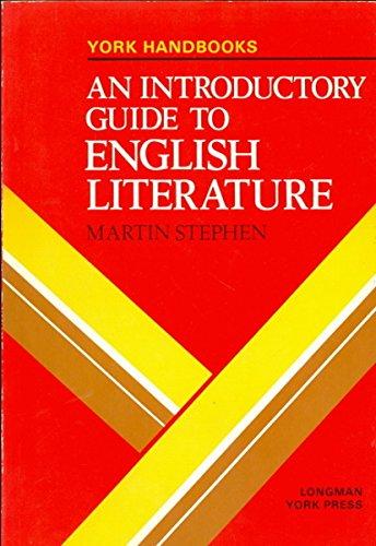 9780582792784: INTRODUCTORY GUIDE TO ENGLISH LITERATURE (YORK HANDBKS. S)