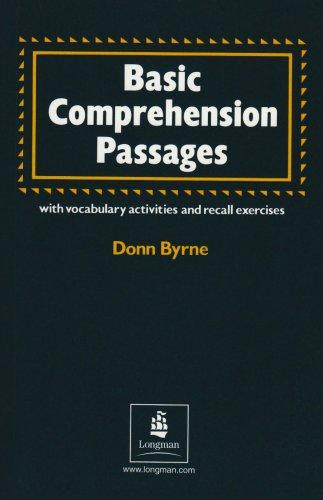 9780582793354: Basic comprehension passages. Per le Scuole superiori