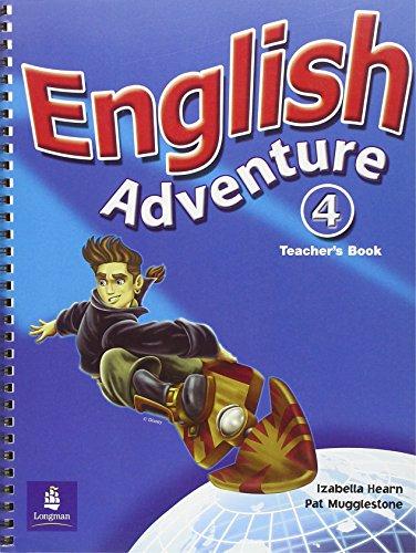 9780582793477: English Adventure: Teacher's Book Level 4 (English Adventure)