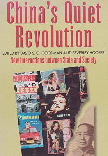 9780582801646: China's Quiet Revolution: New Interactions Between State and Society (Studies in Contemporary Asia)