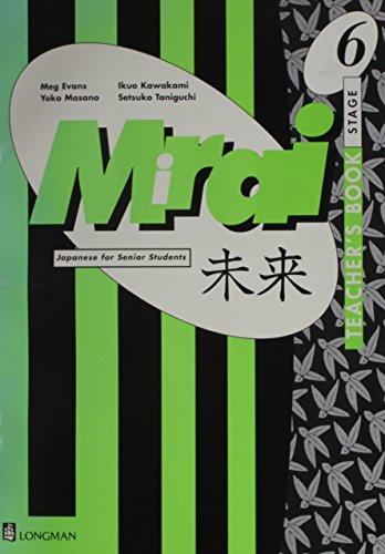 mirai stage 6 course book pdf
