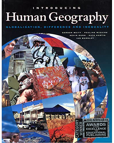 9780582808799: Introduction to Human Geography: Globalisation, Difference and Inequality