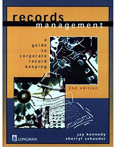 9780582810075: Records Management
