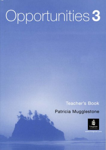 Opportunities 3 (Arab World) Teacher's Book (9780582817906) by P Mugglestone