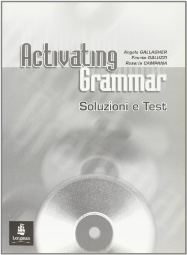 9780582818170: Activating Grammar Italy Key