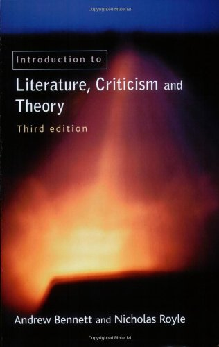 9780582822955: An Introduction to Literature, Criticism and Theory