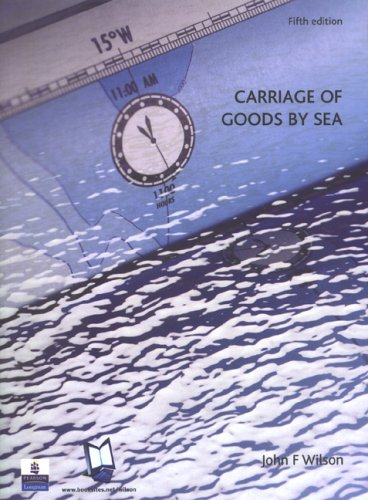 9780582823006: Carriage Of Goods By Sea
