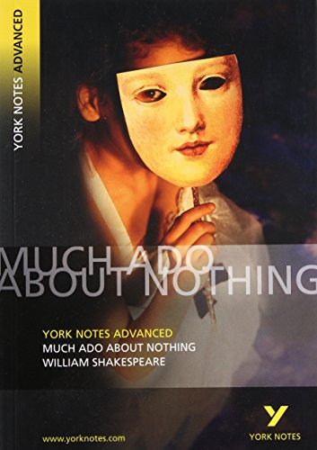 9780582823037: Much Ado About Nothing: York Notes Advanced