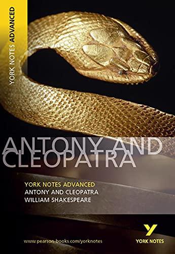 9780582823099: Antony and Cleopatra (York Notes Advanced)