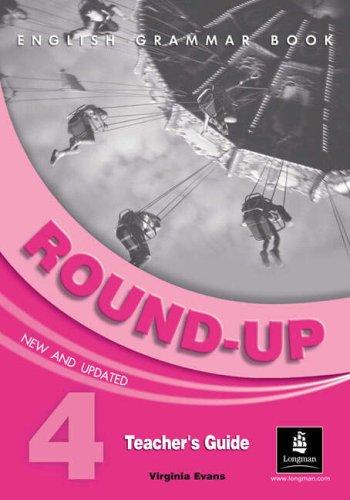 9780582823440: Round-up 4 Teacher's Guide: Teacher's Guide 4 (Round Up Grammar Practice)