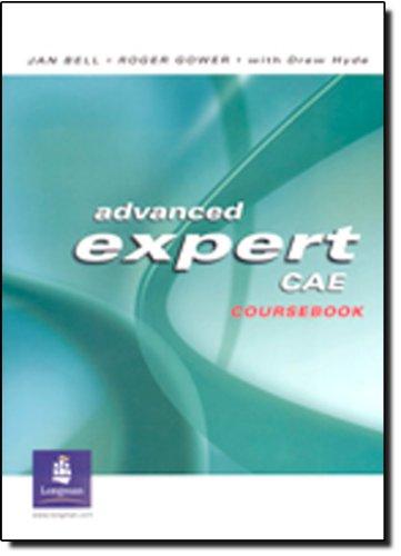 9780582823914: Advanced Expert CAE. Coursebook