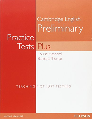 9780582824195: PET Practice Test Plus: Without Key (Practice Tests Plus)