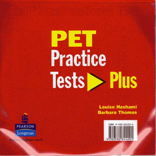 9780582824201: PET Practice Tests Plus (+ 3 CDs)