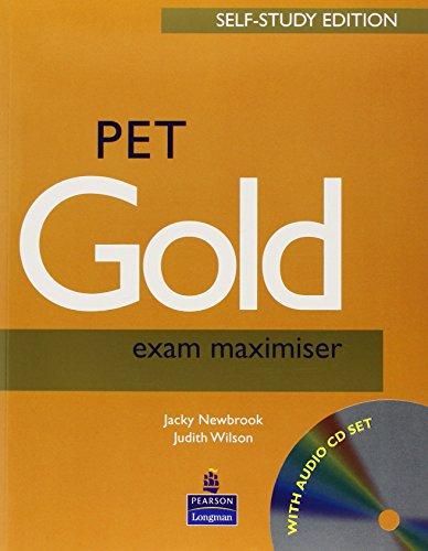 9780582824768: Pet gold. Exam maximiser. With key. Per le Scuole superiori. Con CD Audio