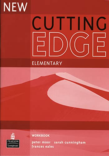 9780582825048: New Cutting Edge. Elementary. Workbook Without Key: Elementary Workbook No Key