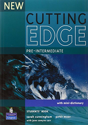 9780582825093: New cutting edge. Pre-intermediate. Student's book. Per le Scuole superiori: Pre-intermediate with Mini-dictionary