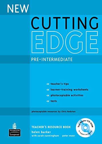 9780582825109: New Cutting Edge Pre-Intermediate Teacher's Book