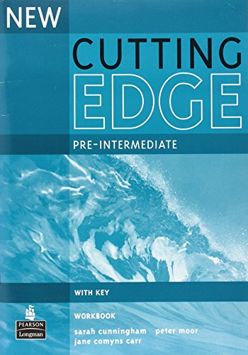 9780582825116: New cutting edge. Pre-intermediate. Workbook. With key. Per le Scuole superiori