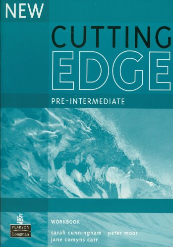 9780582825123: New cutting edge. Pre-intermediate. Workbook. Without key. Per le Scuole superiori