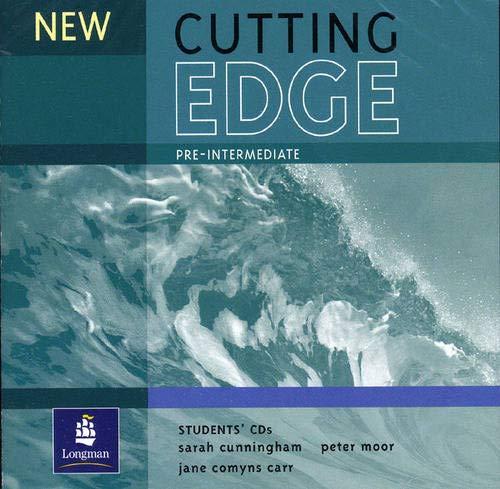 9780582825161: New Cutting Edge Pre-Intermediate Student CD 1-2
